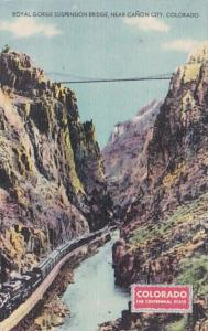 Colorado Royal Gorge Suspension Bridge Near Canon City