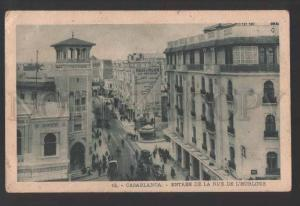3118311 Morocco CASABLANCA ADVERTISING of KOH-I-NOOR Vintage PC