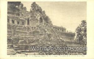 Ruines D'Angkor Cambodia, Cambodge Le Baphuon, Façade Est du 2 efage Ruines ...