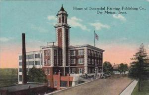 Iowa Des Moines Home Of Successful Farming Publishing Co