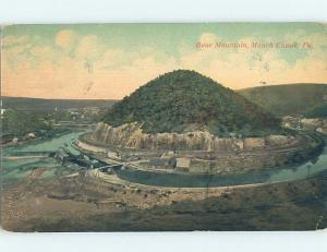 Divided-Back WATER SCENE Mauch Chunk - Jim Thorpe Pennsylvania PA hp8835