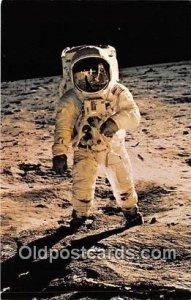 Triumph of Man, Edwin Aldrin, Neil Armstrong Moon, July 20, 1969 Unused