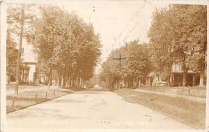 E84/ Carrollton Ohio RPPC Postcard Carroll Co 1912 North Street Homes 3