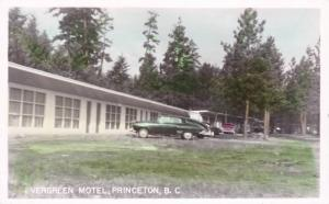 RP, Evergreen Motel, Princeton, British Columbia, Canada, 1930-1940s