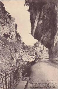 Ligne Du Sud-France, Gorges Du Loup (Alpes Maritmes), France, 1900-1910s