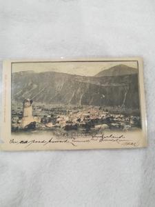 Antique Postcard entitled Martigny