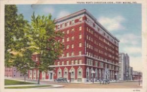 Indiana Fort Wayne Y M C A Building Curteich