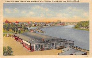 nj-new_brunswick showing Raritan River 1947