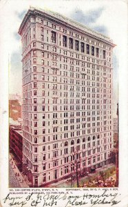 Empire Building,Broadway, New York City, N.Y., Early Postcard, Used in 1906