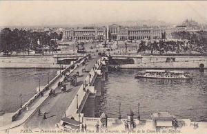Panorama Du Pont Et De La Place De La Concorde, Vue Prise De La Chambre Des D...