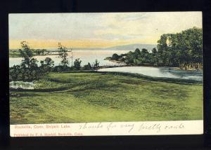Rockville, Connecticut/CT/Conn Postcard, Snipsic Lake
