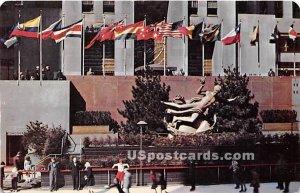 Prometheus Fountain, Rochefeller Center - New York City, NY