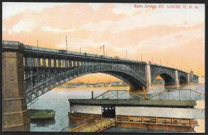 Eads Bridge St Louis Missouri Unused c1910s
