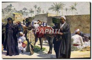 Postcard Old Orientalism Fair at Kerdasse