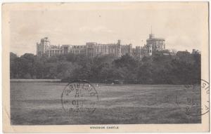 UK, Windsor Castle, 1912 used Postcard