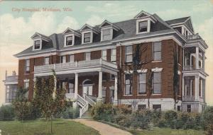 MADISON, Wisconsin; City Hospital, PU-1910