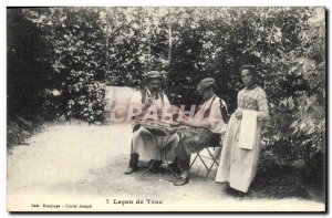 Old Postcard Lesson Truc Folklore