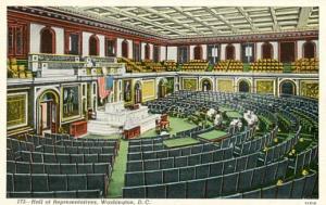 DC - Washington, Hall of Representatives, Interior