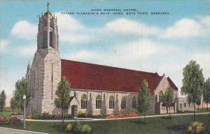 Nebraska Boys Town Dowd Memorial Chapel Father Flanagans Boys Home 1944