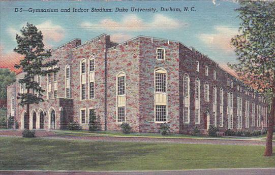 Gymnasium and Indoor Stadium, Duke University, Durham, North Carolina, PU-1950