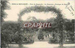Old Postcard Bois de Boulogne Bagatelle