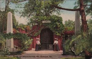 Virginia Mount Vernon The Tomb Of Washington 1909