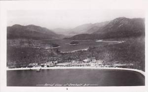 RP; Aerial View of Sechelt, British Columbia, Canada, PU-1933