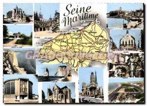 Modern Postcard Rouen Seine Maritime Sub Prefectures