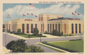 Sam Houston Coliseum And Music Hall, HOUSTON, Texas, 1930-1940s