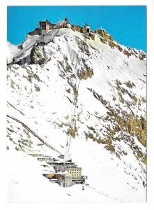 Germany Alps Zugspitze Ski Lift Schneefernerhaus Hotel 4X6