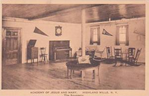 New York Highland Mills Academy Of Jesus And Mary The Snuggery Albertype