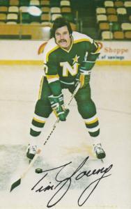 Bloomington, Minnesota, 1981-82 ; Ice Hockey Northstars Player Tim Young