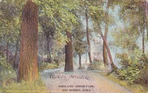 Iowa Des Moines Birdland Union Park 1909