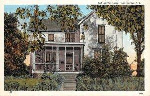 Bob Burns Home, Van Buren, Arkansas ca 1930s Vintage Postcard