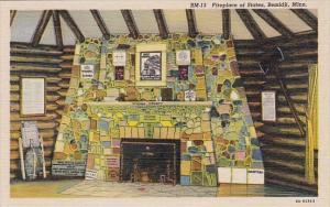 Minnesota Bemidji Fireplace Of States Curteich