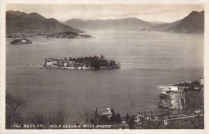 Italy Lago Maggiore Isola Bella e Isola Madre 1948 Real Photo