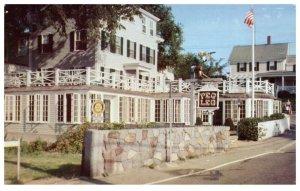 Peg Leg's Restaurant 1960's Rockport Massachusetts PC1609