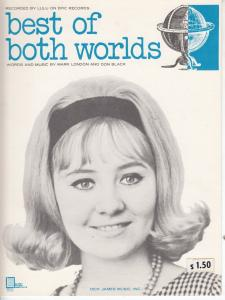 Best Of Both Worlds Lulu 1960s Sheet Music