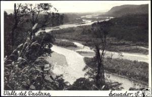 ecuador, Valle del Pastaza (1940s) RPPC