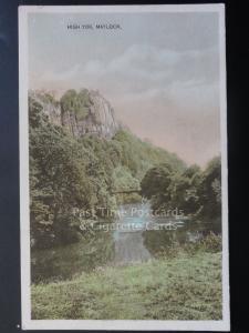 Derbyshire: High Tor, Matlock, Old Postcard