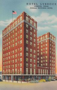 LUBBOCK , Texas , 1930-40s ; Hotel Lubbock