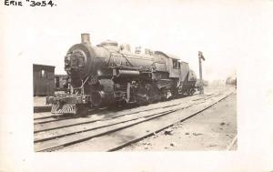 Croxton New Jersey Train Rail Road Real Photo Antique Postcard J69643