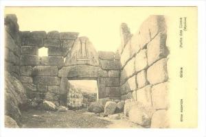 Grece, Porte des lions (Mycenes), 00-10s