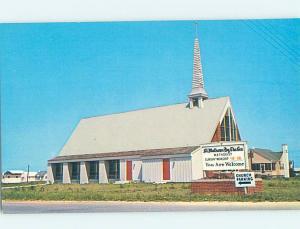 Pre-1980 CHURCH SCENE Fenwick Island - Near Bethany Beach Delaware DE AD0537