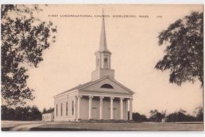 1st Congregational Church, Middleboro MA