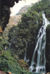 Postcard PANZHIHUA China by Panzhihua Tourism Corporation Waterfall