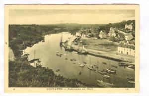 Pont-Aven , France, 00-10s Panorama du Port
