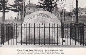 Wisconsin Fort Atkinson Black Hawk War Monument