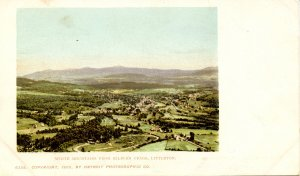 NH - Littleton. Town and Mountains from Kilburn Crags