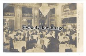 ft1593 - Dining Room , Hotel Belmont , New York City , NY , USA - postcard